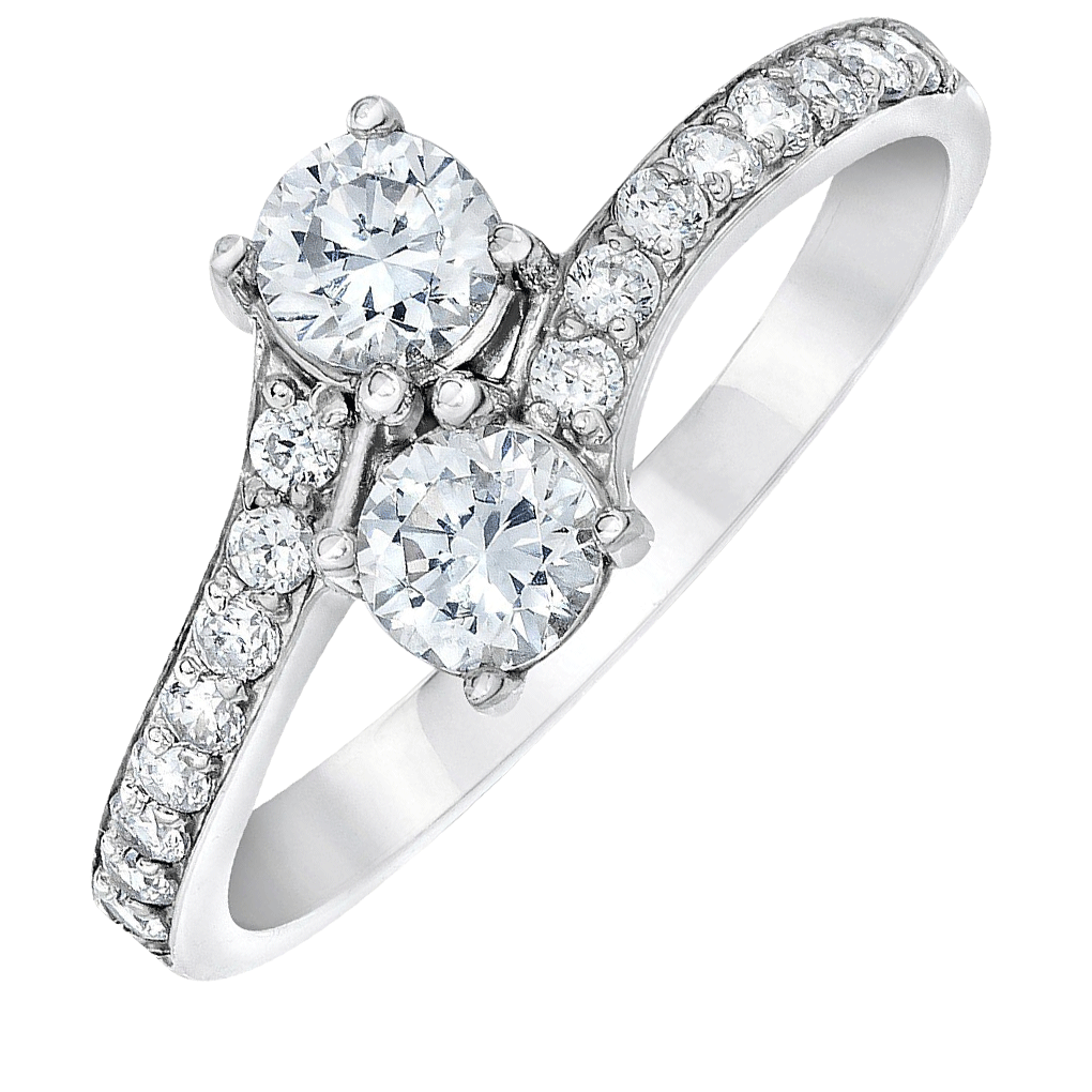 2stone-rings