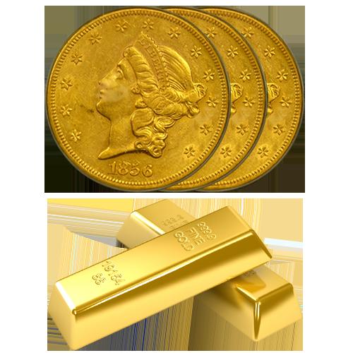 Coins & Bars