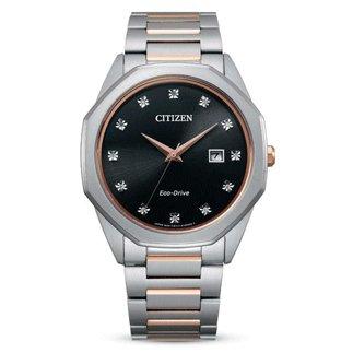 Citizen Watch 12 Diamond Rose Gold-Tone