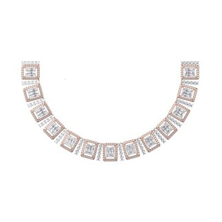 Diamond 10.834 Ct Necklace