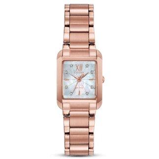 Citizen Watch BIANCA Beveled Sapphire Crystal Pink Tone