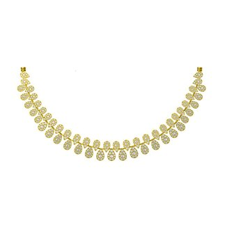 14K Yellow Gold 8.008 Ct. Diamond Necklace