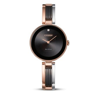 Citizen Watch AXIOM Tri-Color Pink Gold-Tone