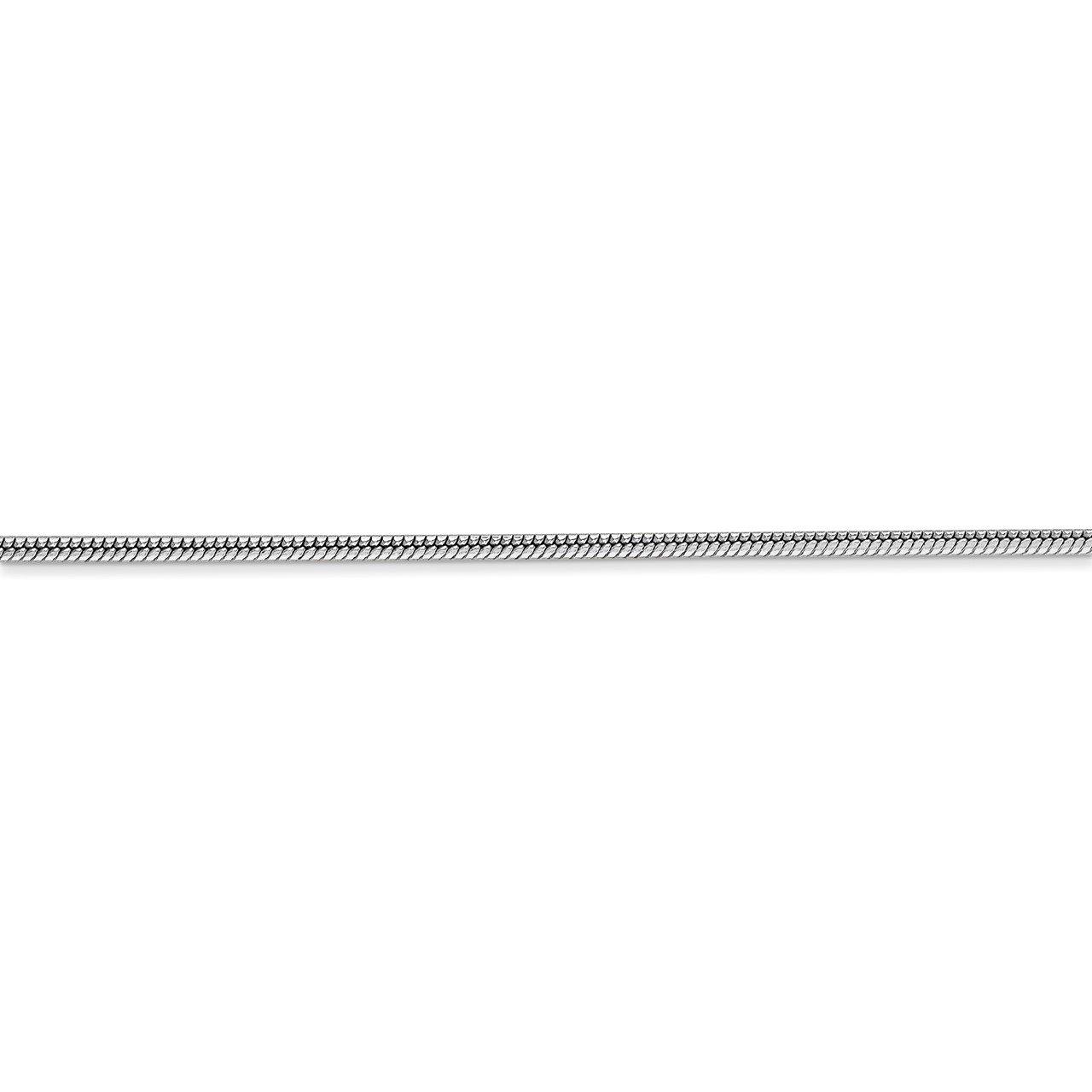 14k WG 1.6mm Round Snake Chain-2