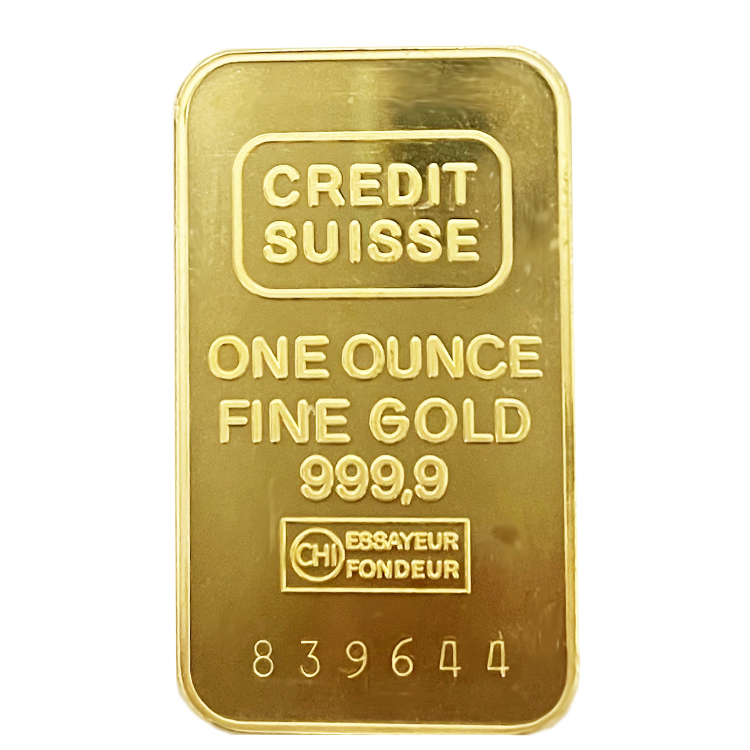 One Ounce Fine Gold Bar
