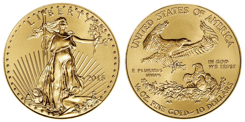 American Eagle $10 Quarter Ounce Gold Coin